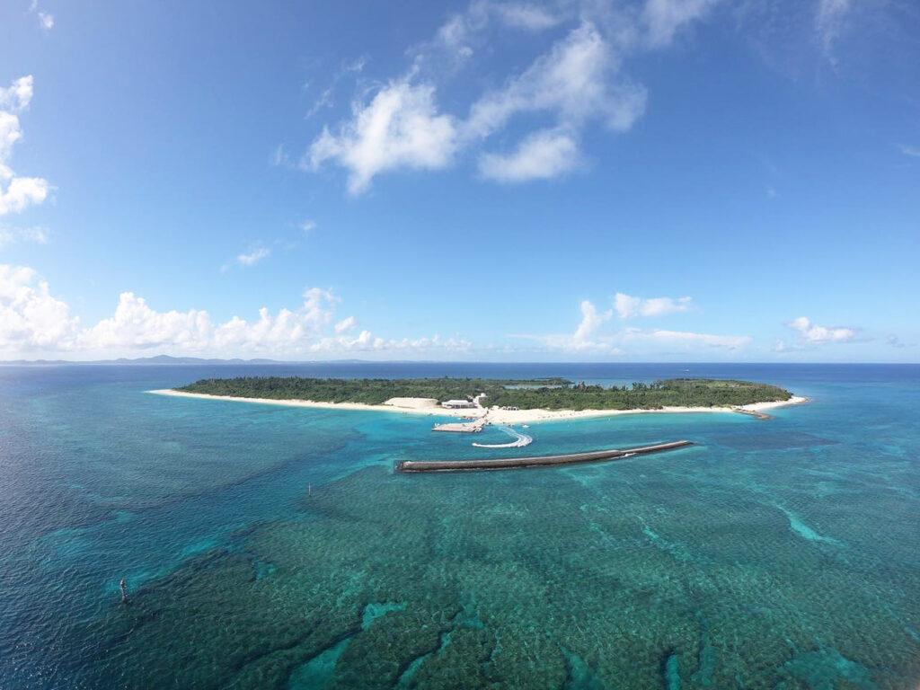 水納島,シュノーケリング,ツアー,友達と