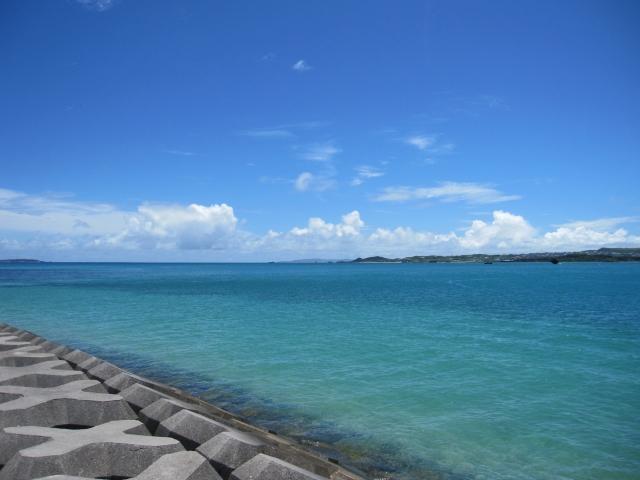 浜比嘉島 海