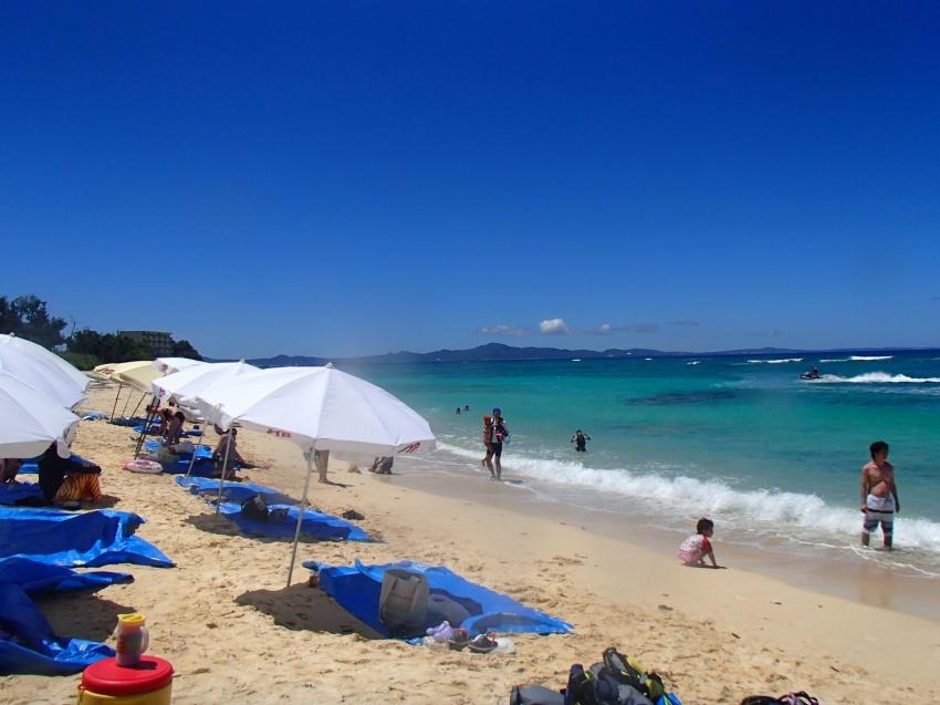 【夏季限定】水納島海水浴フリープラン(パラソル付き)(No.613)