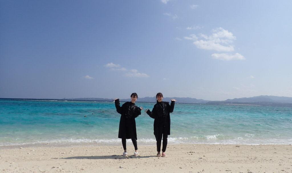 【冬季限定】水納島体験ダイビング(水納島プチ陸上付&写真サービス付き)(No.619)